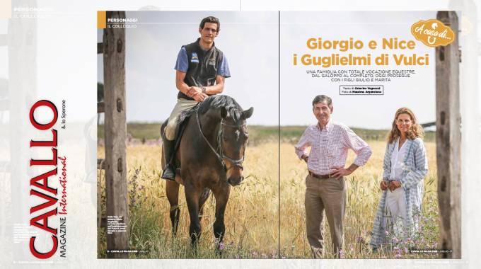 Giorgio e Nice Guglielmi di Vulci
