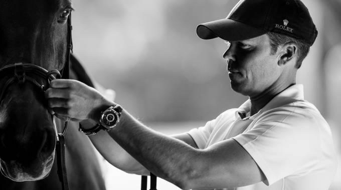 Kent Farrington, un cavaliere che ama la precisione (ph. Rolex/Ashley Neuhof)