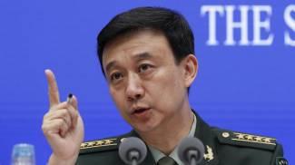 Wu Qian portavoce del ministro della Difesa cinese (Ansa Ap)
