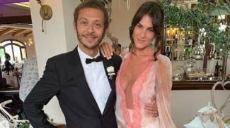 Valentino Rossi e Francesca Sofia Novello su Instagram