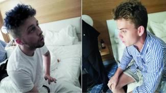 Finnegan Lee Elder, 19 anni, e Gabriel Christian Natale Hjorth, 18 anni (Ansa)