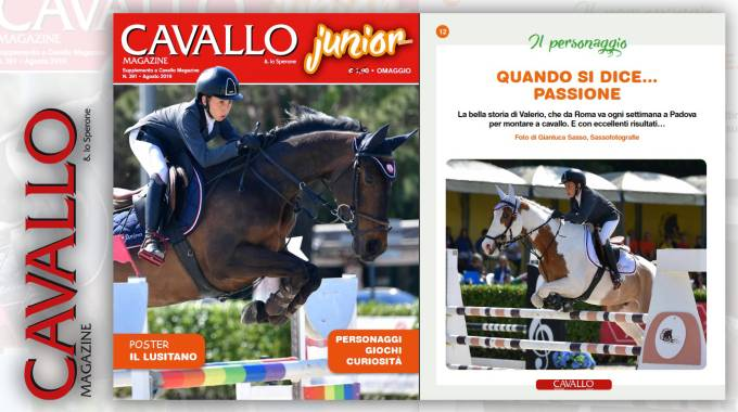 Cavallo Junior: il protagonista Valerio Ielapi