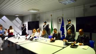 Corinaldo, arresti (foto Antic)