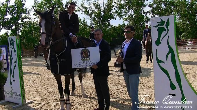 Gianluca Apolloni, Marco Di Paola e Gianluca Quondam - foto Memorial Quondam