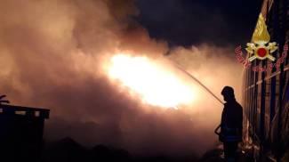 L'incendio a Nodica
