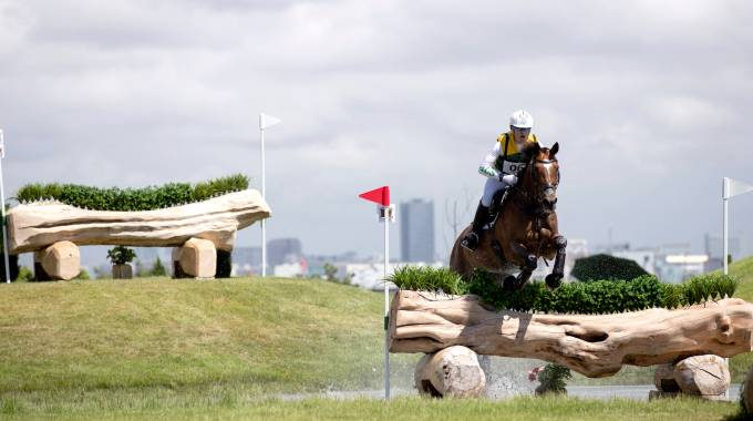 Andrew Hoy (AUS)&Bloom des Hauts Crets, Ready Steady Tokyo event on August 13, 2019 ©Fei