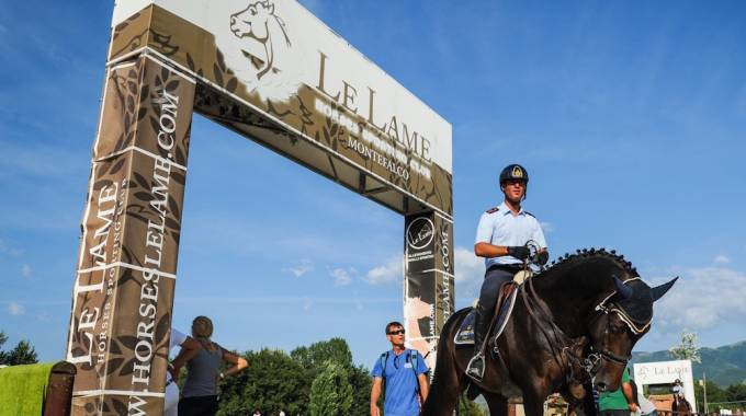Dressage e Salto Ostacoli dal 23 al 25 agosto all'Horse Le Lame di Montefalco (PG) ©MProli