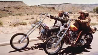 Easy Rider, immagine dal film (Ansa)
