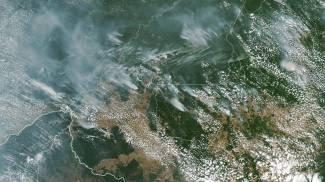 Record di incendi in Amazzonia (Ansa)