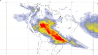 Incendi in Amazzonia (Dire)