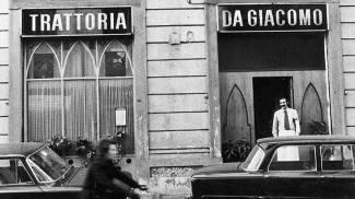 Il primo locale aperto da Giacomo Bulleri (Ansa)