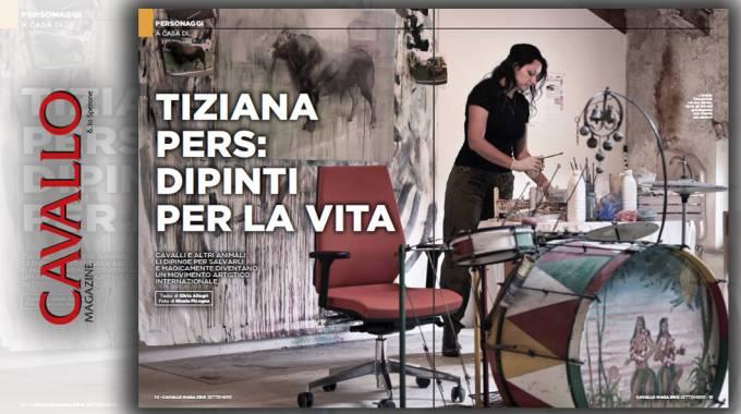 Tiziana Pers: dipinti per la vita