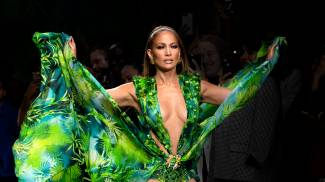 Jennifer Lopez Jungle Dress