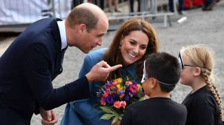 Principe William e la moglie Kate, duchessa di Cambridge (Lapresse)