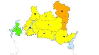 Rischio valanghe, la mappa dell'allerta della Protezione Civile
