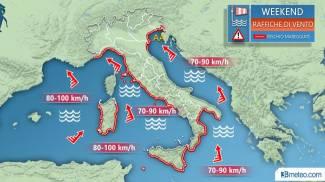 Meteo: nel weekend venti forti, mareggiate e acqua alta a Venezia (3bmeteo.com)