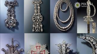 Alcuni dei gioielli rubati a Dresda pubblicati dalla polizia