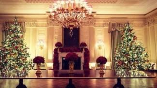 Gli addobbi natalizi alla Casa Bianca (@flotus Instagram)
