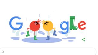 Doodle di Google sugli stivali Wellington (Google)