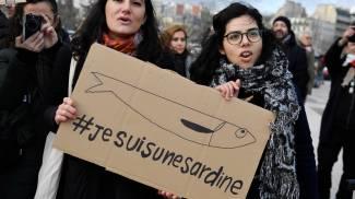 Sardine a Parigi (Ansa)