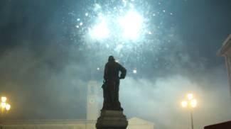 Ultimo dell'anno in piazza a Pisa (foto Valtriani)