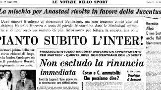 La notizia-bomba del 19 maggio '68, Anastasi è della Juve