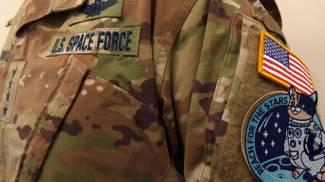 L'uniforme mimetica della Us Space Force, rivista e corretta in rete