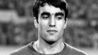 Pietro Anastasi durante un match con la Nazionale nel 1968
