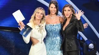 Diletta Leotta, Francesca Sofia Novello e Sabrina Salerno (Ansa)