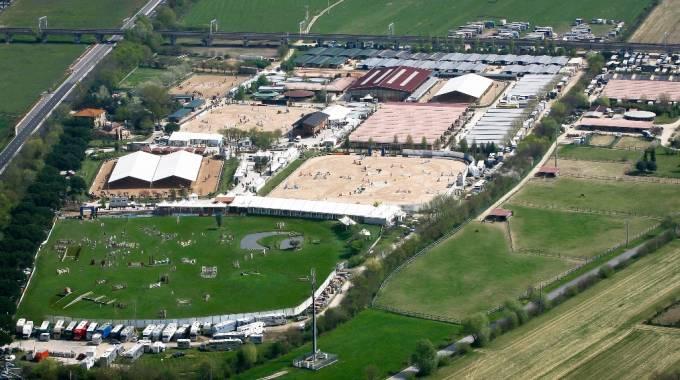Una panoramica degli impianti di Arezzo