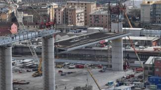 Prosegue spedita la ricostruzione del ponte di Genova