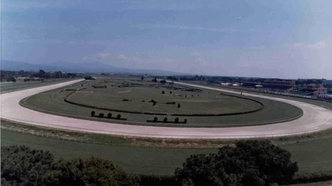 Una panoramica delle piste di Capannelle