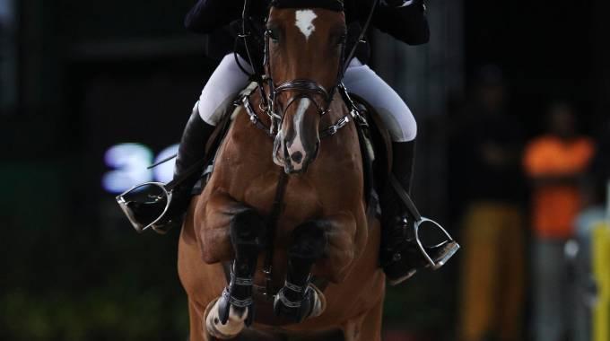 Un concorso di salto ostacoli (ph. Reuters)