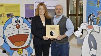 Premio 'Urban Cat' per Michela Vittorio Brambilla