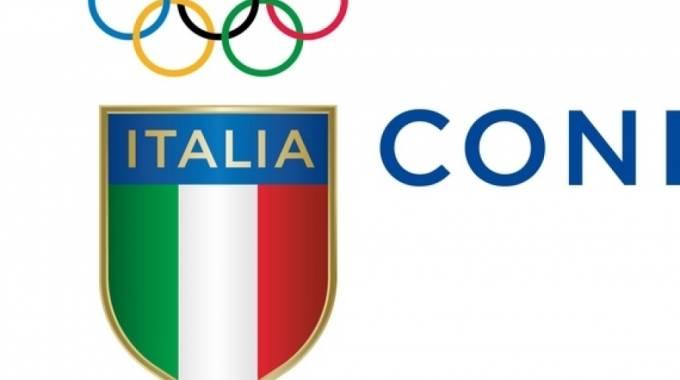 Il nuovo logo del Coni
