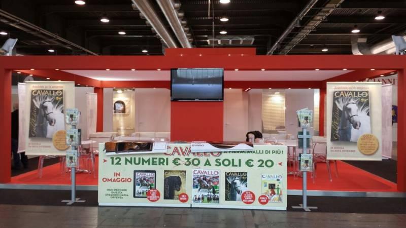 Lo stand di Cavallo Magazine a FieraCavalli 2014 (stad F6 padiglione 4)