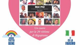 Le 29 vittime di Rigopiano