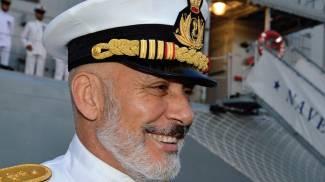 L'ammiraglio Giuseppe Cavo Dragone, capo di Stato Maggiore della Marina Militare