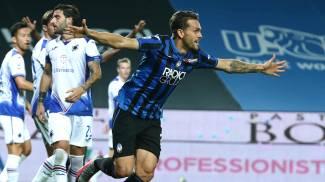 Atalanta-Sampdoria, Toloi festeggia il gol (Ansa)