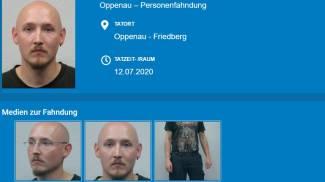 Yves Rausch, la scheda pubblicata dalla polizia tedesca