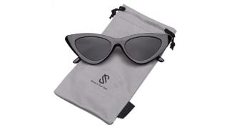 SOJOS Occhiali di Protezione Occhiali da Sole da Donna Occhio di Gatto Retro Vintage Stile