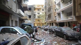 I danni causati dalle esplosioni a Beirut (Ansa)