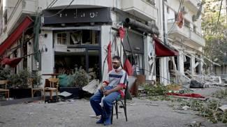 Esplosione a Beirut, il giorno dopo (Ansa)