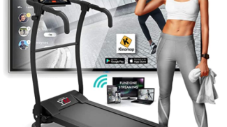 Tapis roulant Pieghevole Bluetooth App KINOMAP su Amaozon.it