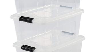 Iris Ohyama New Top Box NTB-15 Scatole impilabili, 15 L su amazon.it