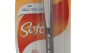 Bic Atlantis Soft Penna a Scatto a Sfera Punta Media su amazon.it