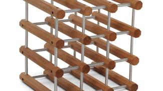 Il Cantiniere Noce-Alluminio su amazon.com