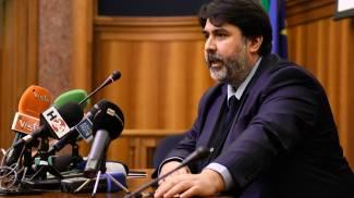 Christian Solinas, presidente della Regione Sardegna (Ansa)