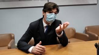 Il presidente delle Marche Francesco Acquaroli