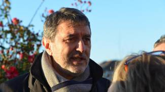Il governatore dell'Abruzzo, Marco Marsilio (Ansa)